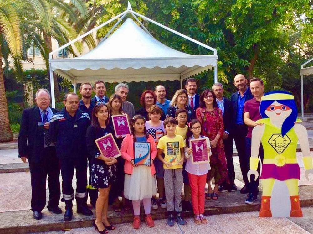 Remise des Boucliers de la résilience aux établissements scolaires de Corse