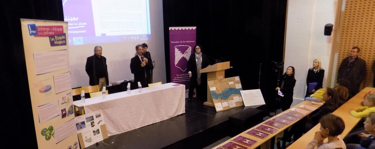 Remise de Boucliers de la résilience à Aix en Provence